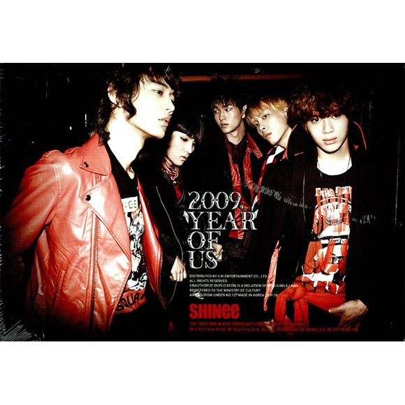 SHINee(シャイニー) - Mini Album Vol.3 [2009, Year Of Us]