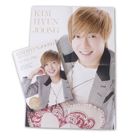 [Photobook+DVD] Kim Hyun Joong  - Collection Book (+Folded Bromide 1p + 1DVD)