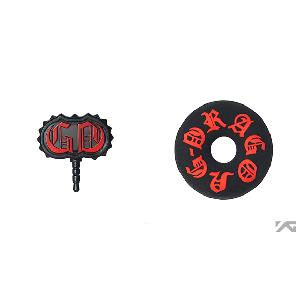 [YG 公式商品] G-Dragon one of a kind Earphone String Winder/Earcap Set (Red)