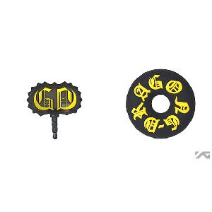 [YG 公式商品] G-Dragon one of a kind Earphone String Winder/Earcap Set (Gold)