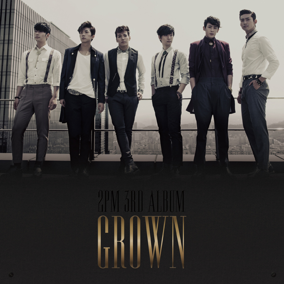 2PM(ツーピーエム) - Vol.3 [Grown]  (A Ver.) [+52p Booklet + Event Card(random)]
