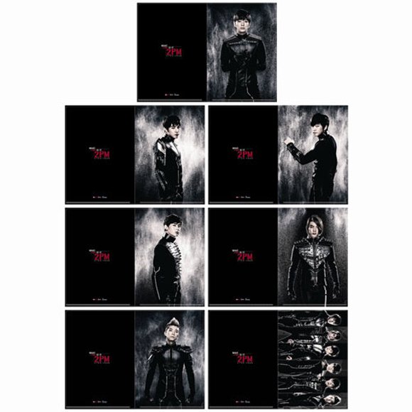 [2PM Live Tour Official Goods] 2PM - Clear File Set (1set : 7p)