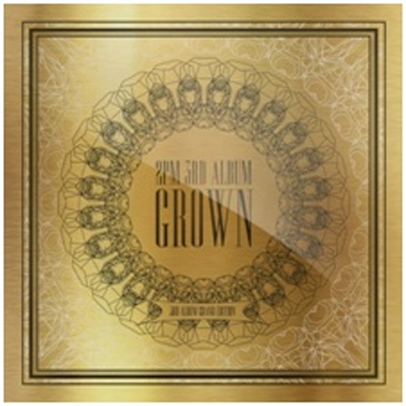 2PM - Vol.3 [Grown] (Grand Edition) [2CD+Postcard 6p+28p Photobook+Booklet+124p Makingbook]