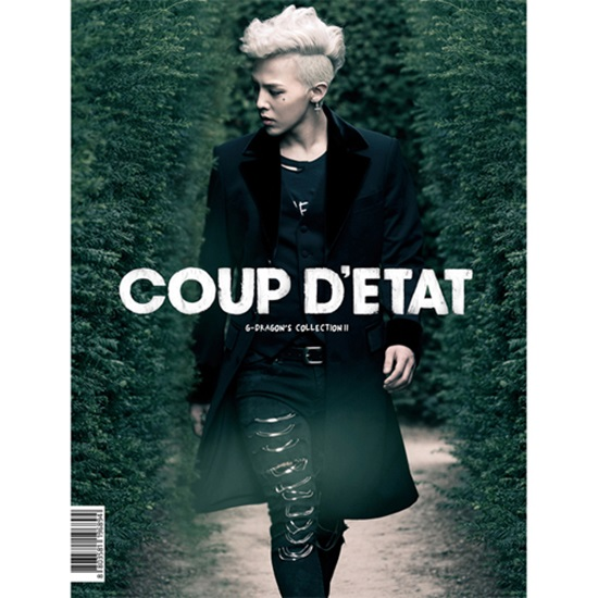 [Making DVD] Big Bang : G-DRAGON'S COLLECTION Ⅱ [COUP D'ETAT] (3DVD+1Photobook+2flip book +Film)