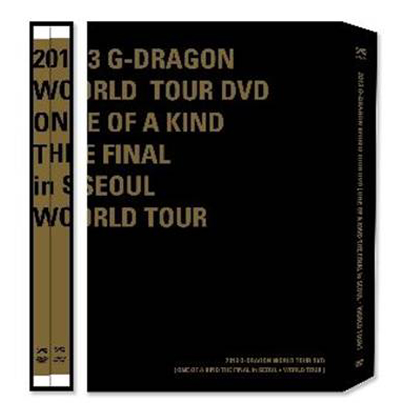 [DVD] 2013 G-DRAGON ジードラゴン WORLD TOUR DVD [ONE OF A KIND THE FINAL in SEOUL+ WORLD TOUR] (+Postcard3p)