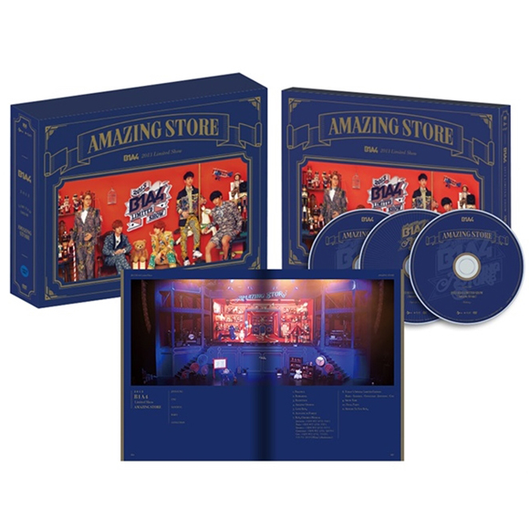 [DVD] B1A4 - B1A4 Limited Show [Amazing Store] [3DVD + Photobook (100p)]