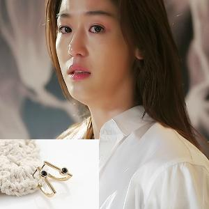 My Love from the Star - SBS Drama_Jun ji hyun : violeta black earring