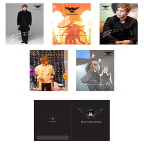 [Official Goods] 1ST Collection Kim Hyun Joong _ BROMIDE+POSTER 4+1 1set