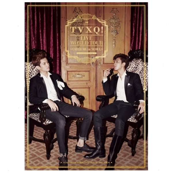 東方神起 - TVXQ! The 4th World Tour [Catch Me] Live Album (2CD)