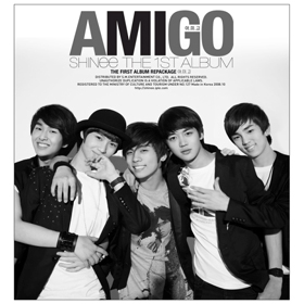 SHINee (シャイニー)- Vol.1 [Repackage] : Amigo