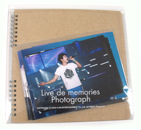 [SM 公式商品] Dong Bang Shin Ki_Photo Scrap Book_Xiah Joon Soo