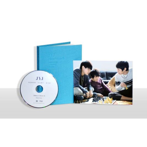 JYJ 3hree voicesⅡ Photo Book 写真+DVD (Code All)