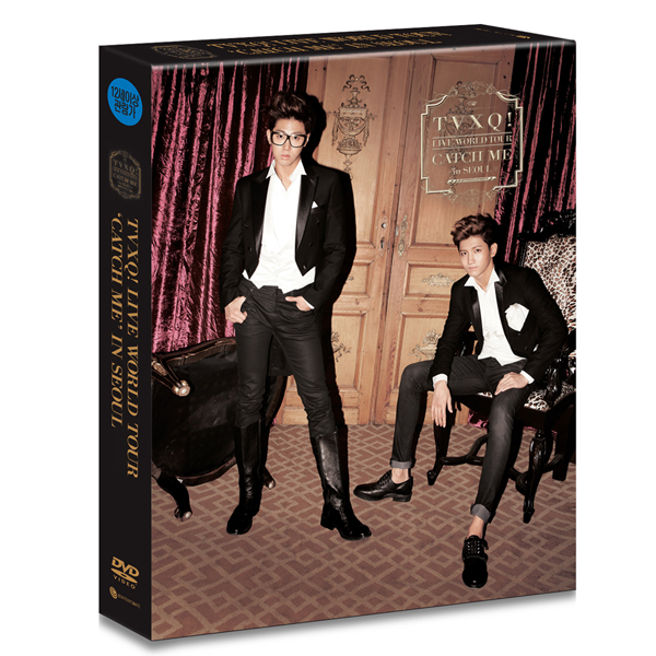 [DVD] 東方神起 - THE 4th WORLD TOUR [Catch Me In Seoul]