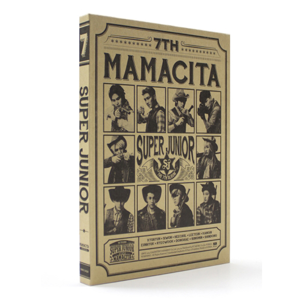 Super Junior - Vol.7 [MAMACITA]