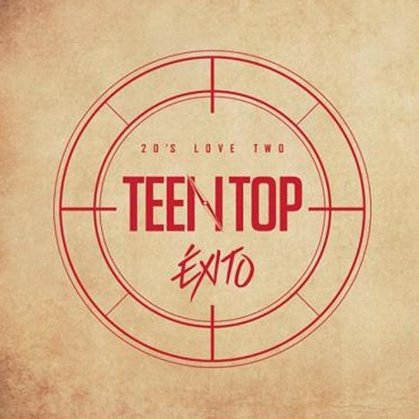 TEEN TOP - 20's LOVE TWO ÉXITO Repackage