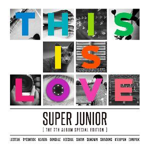 Super Junior (スーパージュニア) - Vol.7 Special Edition [This is Love] (Member Random)
