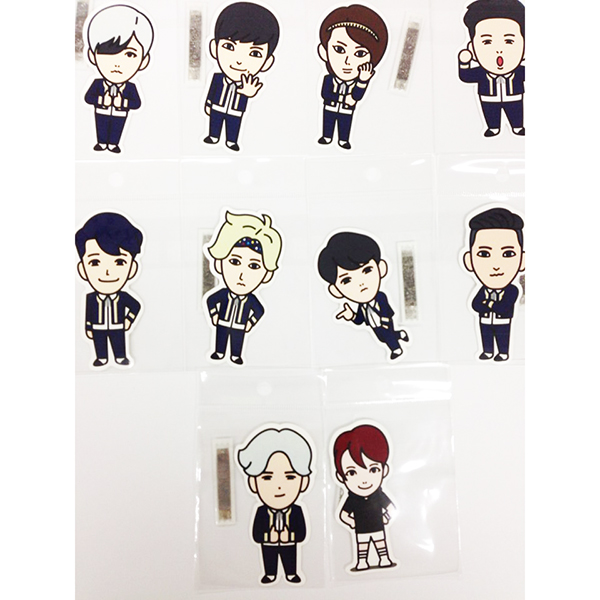 [SUM] [SM公式商品] Super Junior - Character Sticker