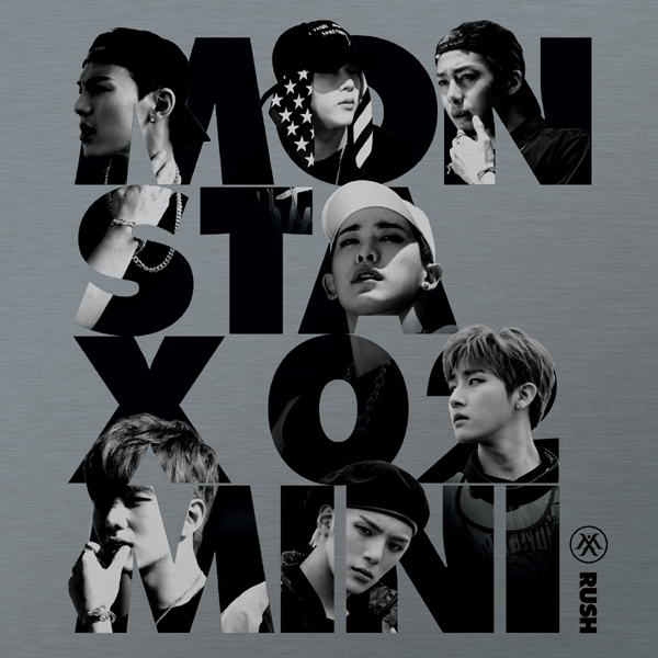 MONSTA X - Mini Album Vol.2 [RUSH] Official Ver.