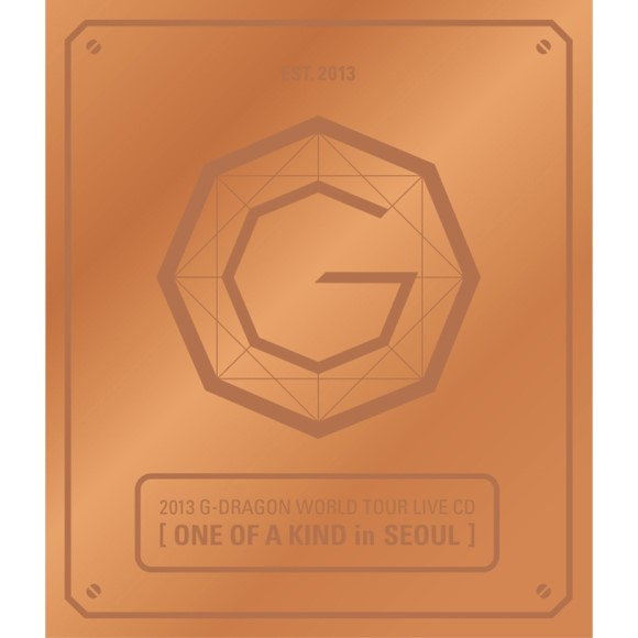 G-Dragon- G-DRAGON WORLD TOUR LIVE CD[ONE OF A KIND in SEOUL] (RANDOM Ver.+Booklet)