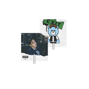 [韓国公式グッズ] WINNER(ウィンナー)  :WINNER X KRUNK IMAGE PICKET (JINWOO) [2016 WINNER EXIT TOUR IN SEOUL] (WINNER公式応援グッズ)