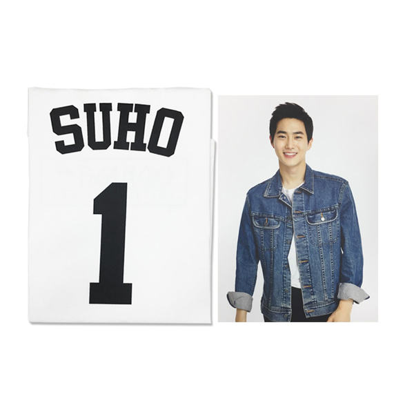 [SM公式グッズ] EXO(エクソ) :  T-SHIRT + PHOTO SUHO [EXOPLANET #2]