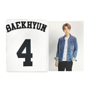 [SM公式グッズ] EXO(エクソ) :  T-SHIRT + PHOTO BACKHYUN [EXOPLANET #2]