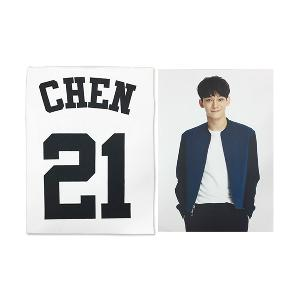 [SM公式グッズ] EXO(エクソ) :  T-SHIRT + PHOTO CHEN [EXOPLANET #2]