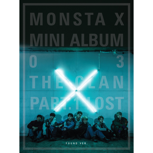 MONSTA X - Mini Album Vol.3 [THE CLAN 2.5 PART.1 LOST] Found Ver.
