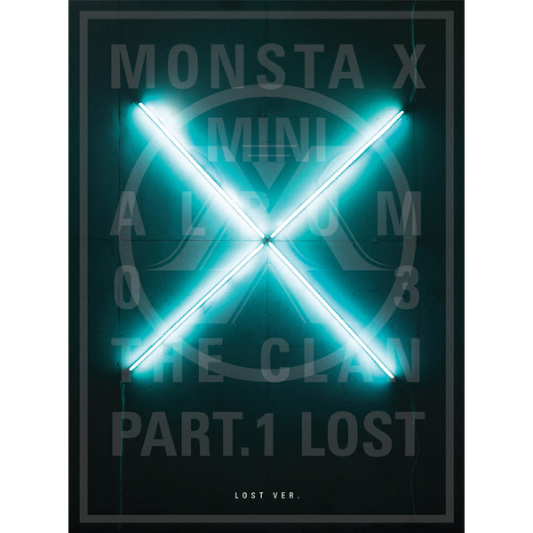 MONSTA X - Mini Album Vol.3 [THE CLAN 2.5 PART.1 LOST] Lost Ver.