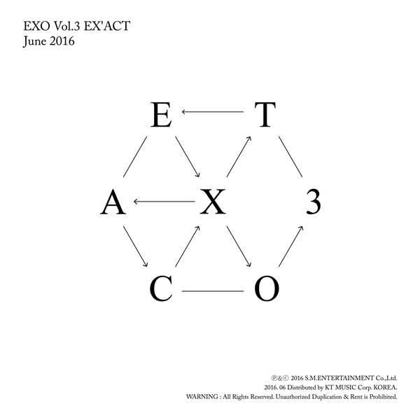 EXO - Album Vol.3 [EX'ACT] (Korean Ver.)