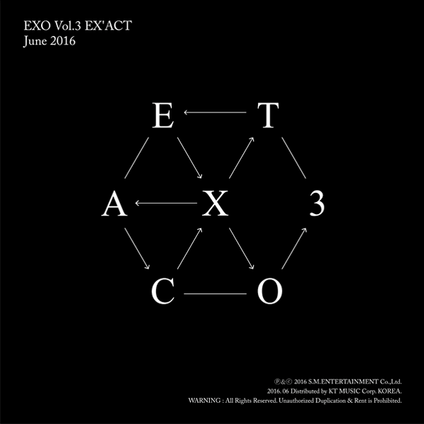 EXO - Album Vol.3 [EX'ACT] (Chinese Ver.)