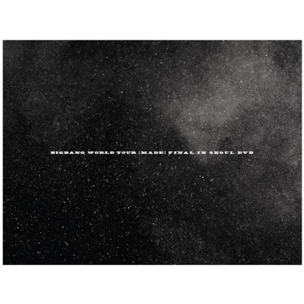 [DVD] BIGBANG - BIGBANG WORLD TOUR [MADE] FINAL IN SEOUL DVD