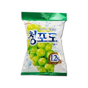 [LOTTE] Green Grape Candy 119g