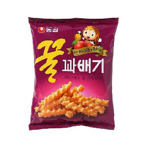 [NONGSHIM] Honey & Apple Snack 90g
