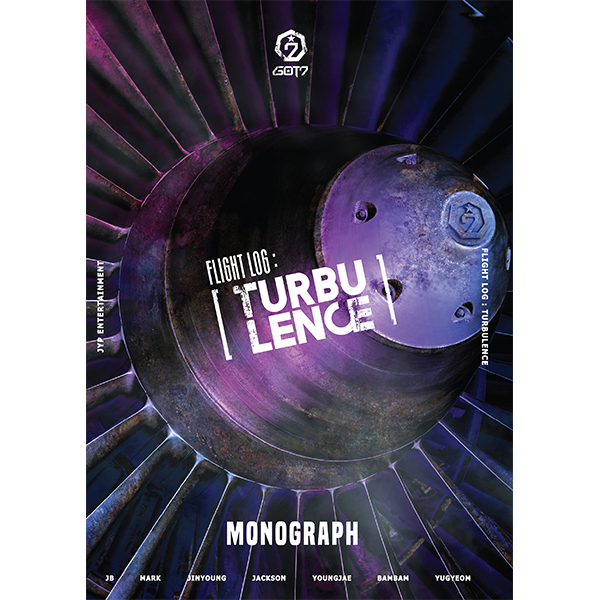 [Photobook&DVD] GOT7 - GOT7 FLIGHT LOG : TURBULENCE Monograph (限定版)