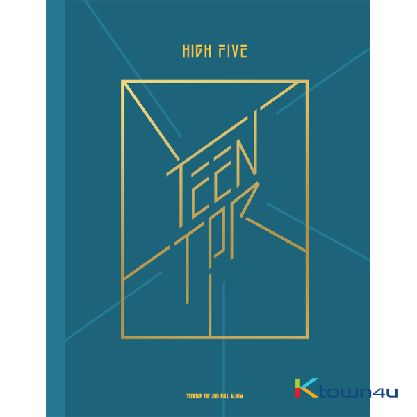 TEEN TOP - Album Vol.2 [HIGH FIVE] (ONSTAGE Ver.)