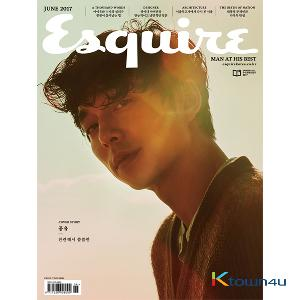 ESQUIRE 2017.06 (Gong Yoo / D ver.)