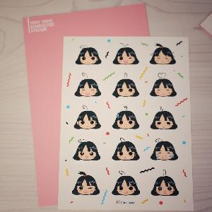 A ver. Sticker set (10p) [Yeny Song]