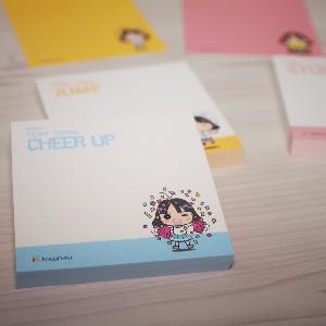 A ver. Memo pad set (Cheer Up 7p) [Yeny Song]