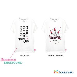TWICE - T-SHIRTS [TWICE 1ST TOUR TWICELAND -The Opening- ENCORE]