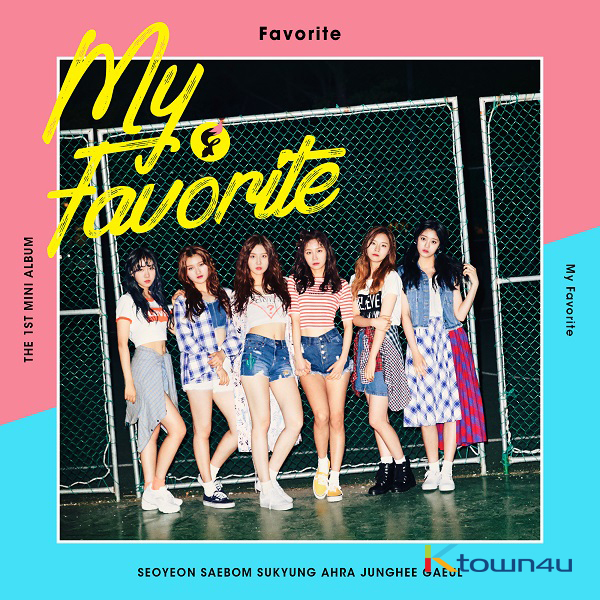 FAVORITE - Mini Album Vol.1 [My Favorite]