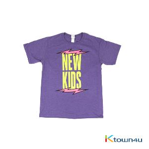 [NEWKIDS] iKON - T-SHIRTS TYPE 2 (PURPLE)