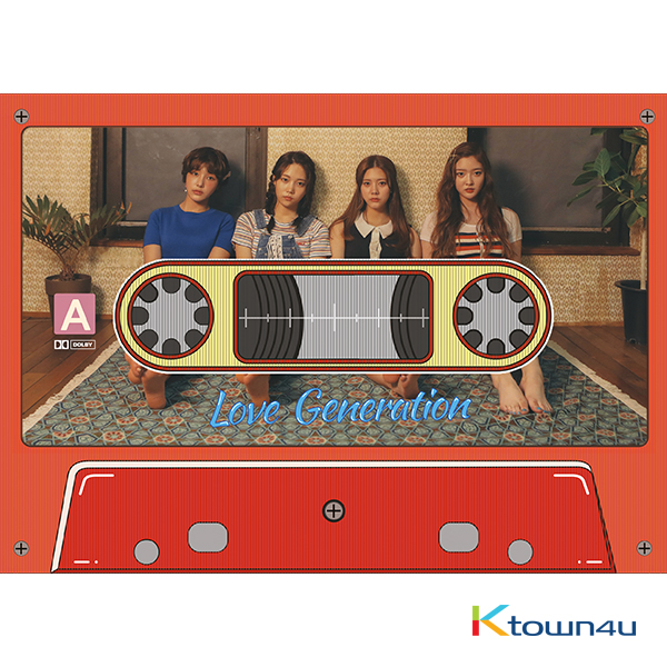 DIA -  Album Vo.3 [LOVE GENERATION] (Unit edition L.U.B  Ver)