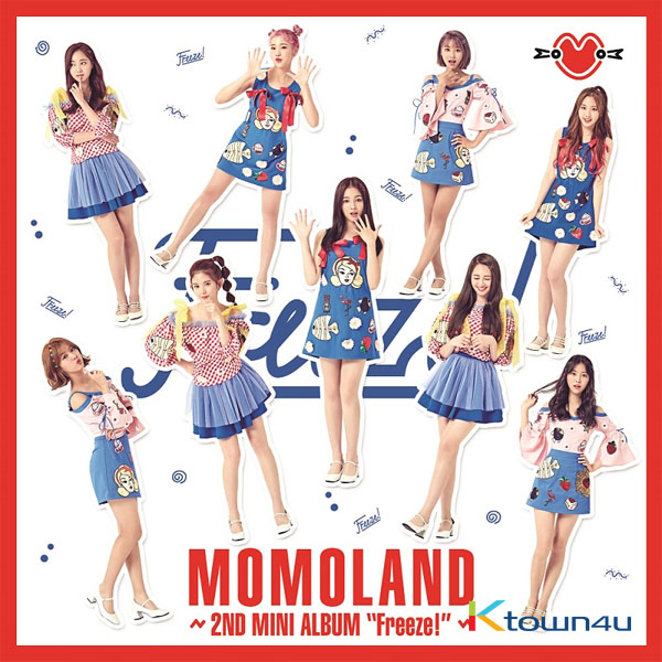 MOMOLAND - Mini Album Vol.2 [Freeze]