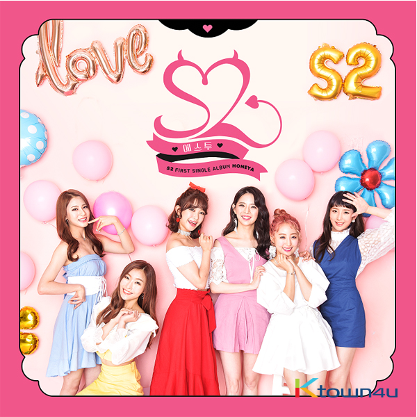 S2 - S2 SINGLE ALBUM Vol.1 [Honeya]