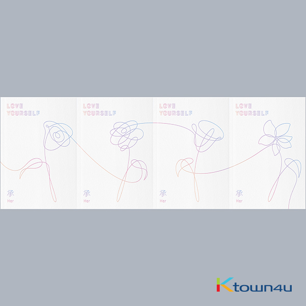 BTS - Mini Album Vol.5 [LOVE YOURSELF 承 'Her'] (Random Ver.)