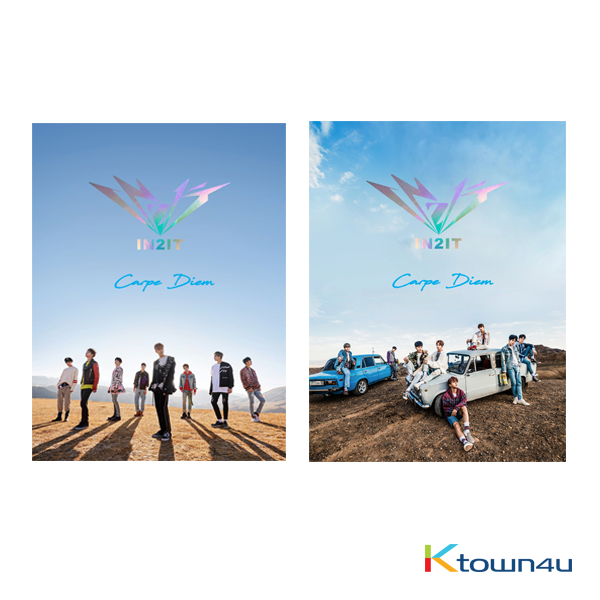 [SET][2CD + 2POSTER SET] IN2IT - Debut Album [Carpe Diem] (A Ver + B Ver)