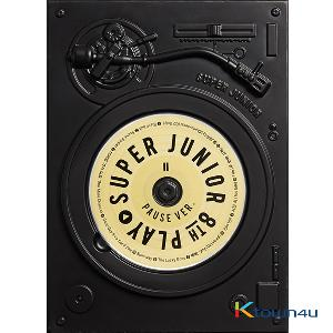 Super Junior - Album Vol.8 [PLAY] PAUSE Ver. (Small registered packet & K-Packet is not possible to be sent for order with Tube)