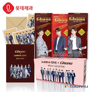 [LOTTE] Wanna one X Ghana Special Collection (Wanna one postcard 5p Limited Edition)