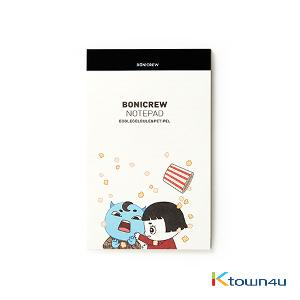 [BONICREW] Guardian: The Lonely and Great God - Bonicrew Notepad (A5) Boglegelblue&Petifel